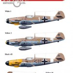 Eaglecals 130 Bf 109 F-4 Trop Luftwaffe WW2