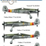 New Luftwaffe Bf 109 and Ta 152 H Decals from EagleCals