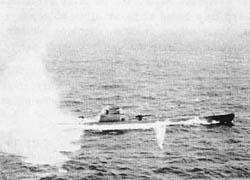 German Submarine U-524 Sunk Canary Islands