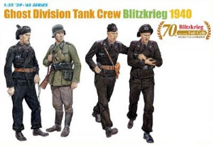 Ghost Division Tank Crew, Blitzkrieg May 1940 -- 11th Panzer Division