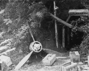Japanese Wreckage in WW2