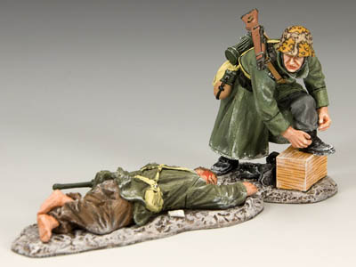 King and Country Toy Soldiers -- Cold Feet, Warm Boots