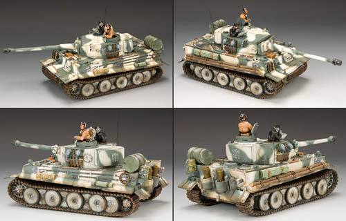 King and Country Toy Soldiers -- Snow Tiger Tank WW2