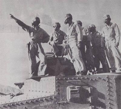 M3 Grant Tank Grim Reaper Desert Training