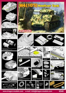 U.S. M4 105-mm Howitzer Tank