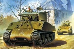 M4A3E2 Jumbo Sherman Tank - WW2 ETO