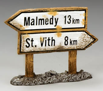 Malmedy and St. Vith Sign