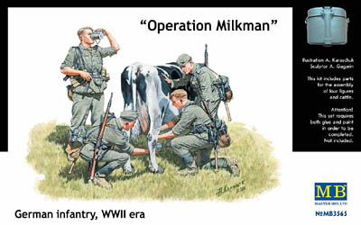Operation Milkman Master Box Diorama Figures