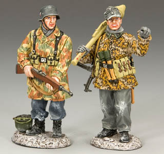 Over There, Waffen SS and Luftwaffe Soldat