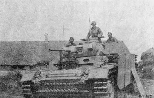 Pz III Beob Wg Beobachtungswagen WWII