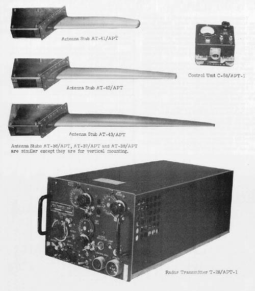 Radar Jammer Antenna Stub