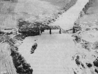 Rail Bridge Bombing at Civita Castellana