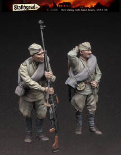 Red Army Anti-tank Rifle Team WW2 1943-1945