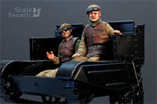 Resin Scale Fanatic Bren Carrier Driver