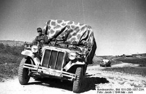 Sd.Kfz. 10 Light Halftrack Tractor Camouflage