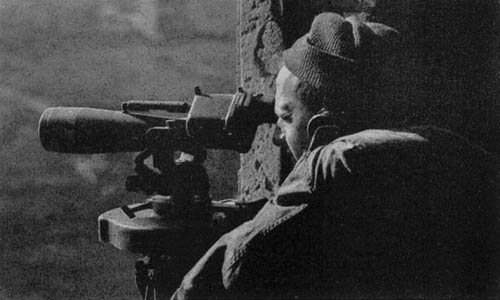 U.S. Army WW2 Observation Post