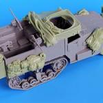 U.S. M2 WW2 Halftrack Accessories Set