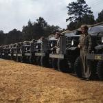 USMC Color Photo Trucks WW2
