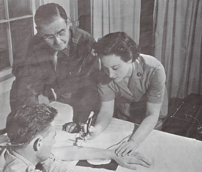 WAC Nurse and Army Doctor in WWII
