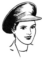 Women Safety Cap - WW2 Home Front