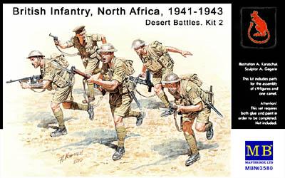 WW2 British Infantry North Africa 1941-1943