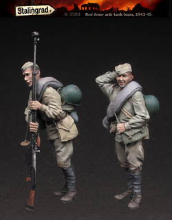 WW2 Stalingrad Red Army Soldiers