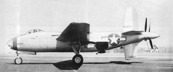 XB42 Mixmaster Experimental Bomber