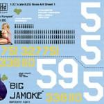 447th BS 321st BG -- B-25J Mitchell Nose Art -- Mrs Runyon and Big Jamoke