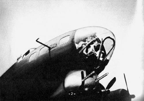 B-17 Bomber Chin Turret