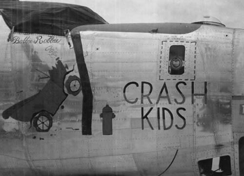 B-24 Nose Art Crash Kids