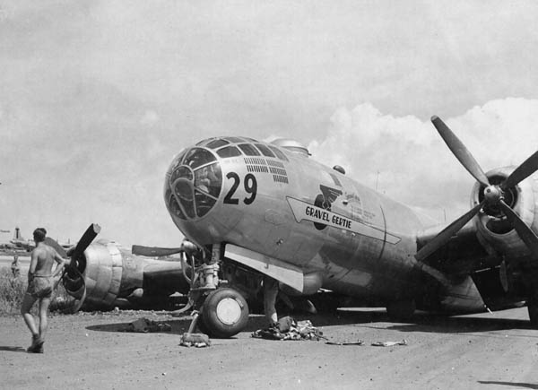 B-29 Superfortress Gravel Gertie in WW2