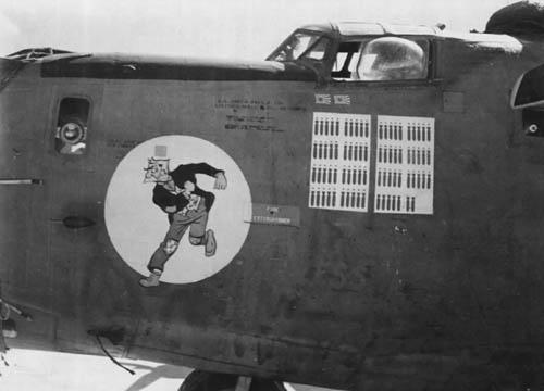 Bathless B-24 Bomber Nose Art WW2