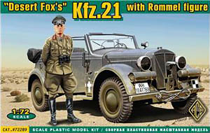 Desert Fox: Rommel with Kfz. 21 Staff Car