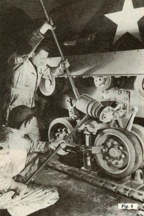 HVSS M4 Tank Track Repair, Figure 6