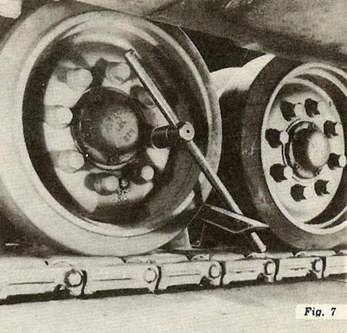 Inner Bogie Wheel Bolts, Figure 7