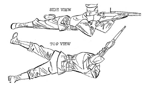 Military Firing Position Rifle