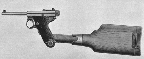 Nambu 8-mm Pistol and Shoulderstock