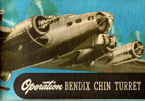 Operation of the Bendix Chin Turret