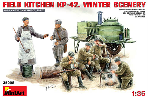Russian Field Kitchen KP-42