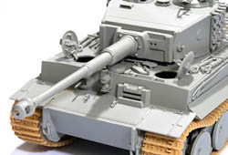 Tiger Tank Plastic Model