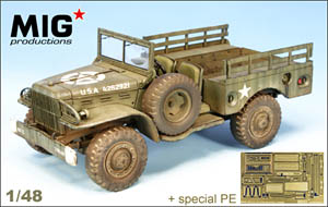 Mig Productions U.S. 3/4-ton Dodge WC51 Weapons Carrier