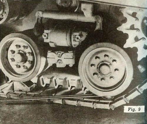 M4 Tank Wheel and Tracks, Figure 9