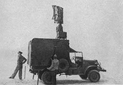 WW2 SO-7M Truck-mounted Surface Search Radar