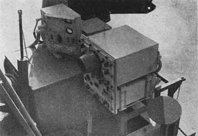 WWII Radar Truck, SO-7M Truck-mounted Surface Search Radar