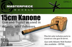 15cm Kanone Atlantic Wall