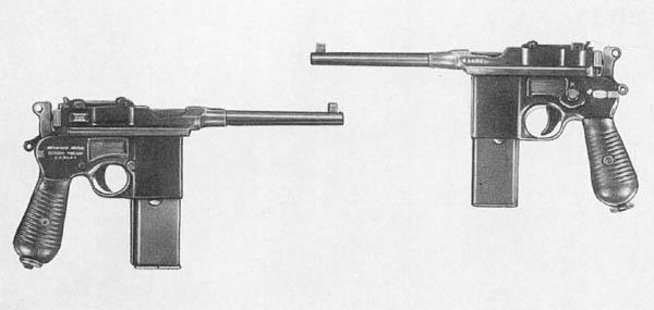 Broomhandle Mauser C96 Pistol