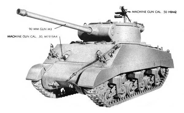 M36 B1 Gun Motor Carriage
