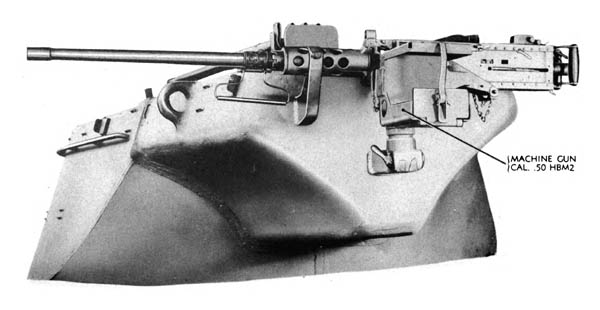 Turret .50 Caliber Machine Gun