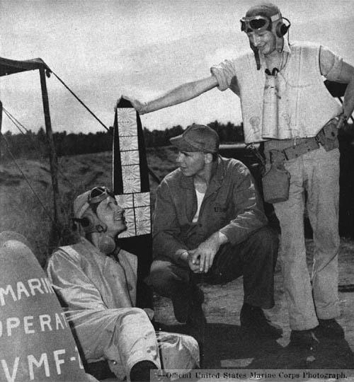 USMC VMF Marine Fighter Pilots Guadalcanal