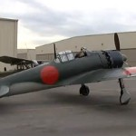 Japanese Zero A6M5 Engine Sound